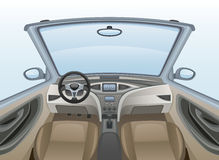 Inside car Royalty Free Stock Photography