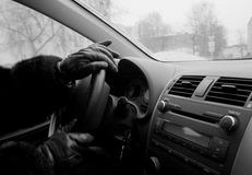 Inside car Royalty Free Stock Images
