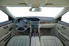 The inside of the car Royalty Free Stock Image
