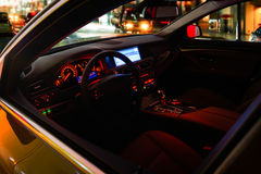 Inside of car Royalty Free Stock Photos