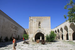 Inside the Caravanserai Stock Image