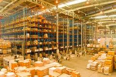 Inside cargo terminal Stock Photos
