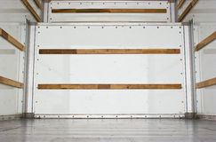 Inside Cargo Truck Royalty Free Stock Image