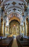 Inside Carmelitas Church in Porto Royalty Free Stock Image