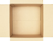 Inside carton box Royalty Free Stock Photography