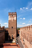 Inside the Castelvecchio Museum in Verona, Italy Stock Photography