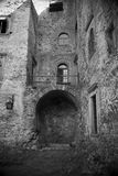Inside the castle Royalty Free Stock Images