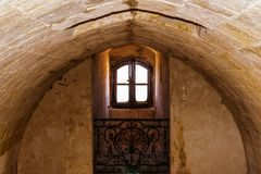 Inside the Castle stock photography