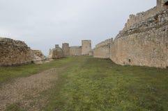 Inside Castle Gormaz Stock Photography