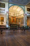 Inside the Cataldo Mission. Royalty Free Stock Images