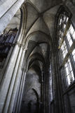 Inside the cathedral Stock Photography