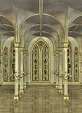 Inside Cathedral Royalty Free Stock Image