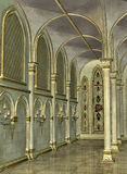Inside Cathedral Royalty Free Stock Images