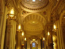 Inside A Cathedral.  royalty free stock images