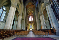 Inside cathedral Royalty Free Stock Photography