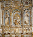 Inside the Cathedral of Catania,  Sicily, southern Italy. Stock Photo