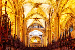Inside Cathedral. Royalty Free Stock Photos