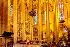 Inside Cathedral. Stock Image