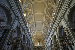 Inside the cathedral of Palermo,  Sicily, southern Italy Stock Images