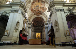 Inside the cathedral of Palermo,  Sicily, southern Italy Stock Image
