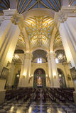 Inside the cathedral on the Plaza de Armas in Lima, Peru Stock Images