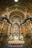 Inside the cathedral on the Plaza de Armas in Lima, Peru Royalty Free Stock Photos