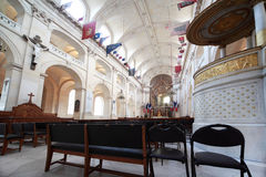 Inside Cathedral of St. Louis Stock Photos