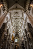 Inside of a Cathedral Stock Photos