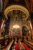 Inside a catholic cathedral. In Poland Royalty Free Stock Photos