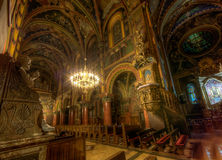 Inside a catholic cathedral. III Royalty Free Stock Photos