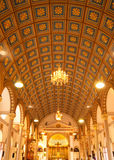 Inside of Catholic church Royalty Free Stock Photography
