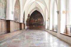 Inside Catholic church. Royalty Free Stock Photography