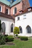 Inside Catholic church. Stock Image