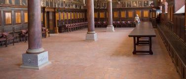 Inside Catholic church. Stock Photography