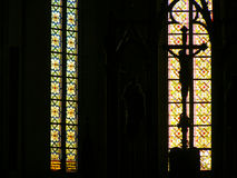 Inside a catholic curch sibiu Royalty Free Stock Images