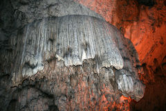 Inside the cave Royalty Free Stock Image