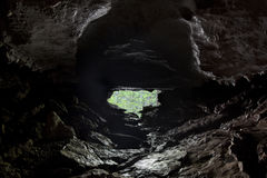 Inside a Cave Royalty Free Stock Photography