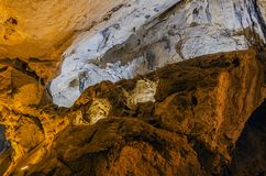 Inside the cave Stock Photo