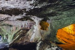 Inside the cave Royalty Free Stock Images