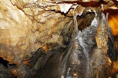 Inside cave Royalty Free Stock Image