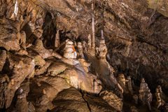 Inside of a Cave Stock Photography
