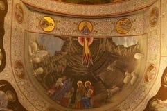 Inside of Celic Dere Monastery Stock Image
