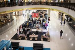 Inside Central Festival Chiang mai. CHIANG MAI, THAILAND - MAY 16 2018: Central Festival Chiang mai. New Business Plaza of Chiangmai. About 3 Km. from Chiangmai Royalty Free Stock Photography