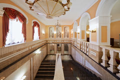 Inside Central House of culture of railwaymen Stock Photos