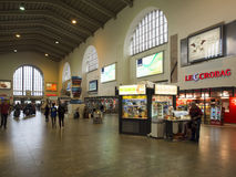 Inside the central railway station in Stuttgart, Germany Royalty Free Stock Photography
