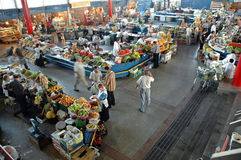 Inside in the Central Yerevan Market, Armenia Royalty Free Stock Images