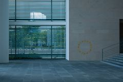 Inside the Chancellery Building in Berlin-Mitte Stock Photo