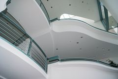 Inside the Chancellery Building in Berlin-Mitte Royalty Free Stock Photos