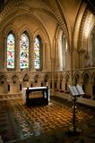 Inside chapel. Christ church cathedral at dublin ireland Stock Images