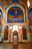 Inside of Chapel of Saint David in Tbilisi, Georgia Royalty Free Stock Photos